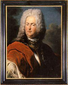 Johann Adam I. Andreas Fürst von Liechtenstein (1684-1712). Gemälde von Peter van Roy (1683 - nach 1738).