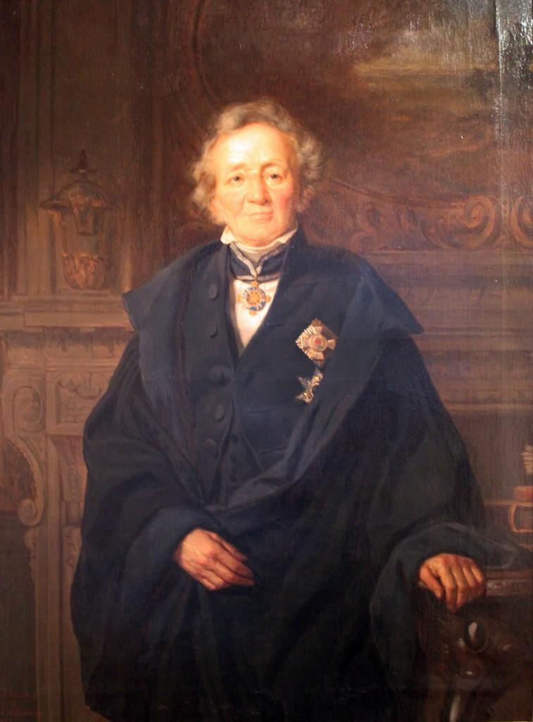 Leopold v. Ranke, 1875 von Julius Schrader